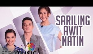 Lea, Bamboo and Sarah - Sariling Awit Natin (Official Lyric Video)