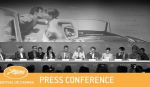 JURY- CANNES 2018 - PRESS CONFERENCE - EV