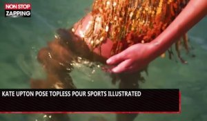 Kate Upton pose topless pour Sports Illustrated (vidéo)