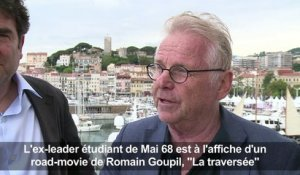 Cannes: Cohn Bendit dans un road-movie signé Goupil