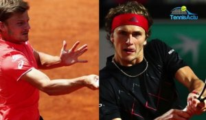 "ATP - Rome 2018 - David Goffin : ""On va essayer d'arrêter Alexander Zverev"""