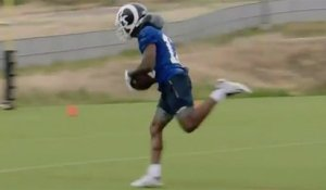 Go DEEP! Goff's first connection with Cooks is a thing of beauty