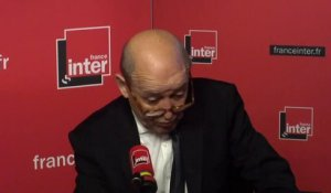 "Jean-Yves Le Drian et les sanctions US en #Iran : ""On ne se plie pas, on immunisera les investissements"""