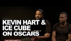 Kevin Hart & Ice Cube #OscarsSoWhite - Westwood *HOT INTERVIEW*