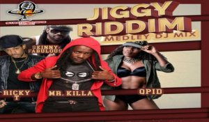 Ricky T , Skinny Fabulous, Mr Killa, Qpid - JIGGY RIDDIM MEDLEY (Official Music Video)