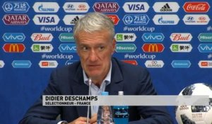 Mondial 2018 - Danemark-France: Deschamps en conférence de presse
