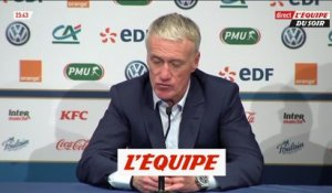 Deschamps encense Griezmann - Foot - Amical - Bleus