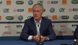 "France - Deschamps sur Mbappe : ""Ni rassurant ni inquiétant"""