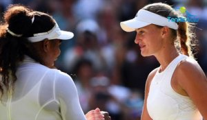 "Wimbledon 2018 - Kristina Mladenovic battue par Serena Williams sans ""arrogance"""