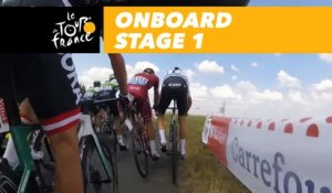 Onboard camera - Étape 1 / Stage 1 - Tour de France 2018