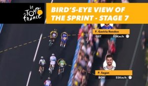 Graphic near live - Étape 7 / Stage 7 - Tour de France 2018