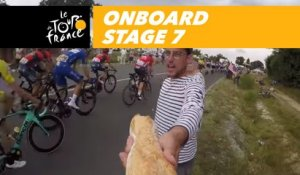 Onboard camera - Étape 7 / Stage 7 - Tour de France 2018