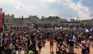 Ambiance fan zone Bellecour