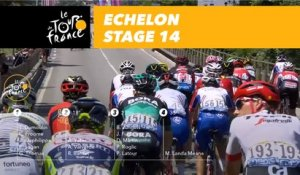 Bordure / Echelon - Étape 14 / Stage 14 - Tour de France 2018