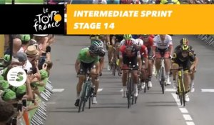 Sprint intermediaire / Intermediate sprint - Étape 14 / Stage 14 - Tour de France 2018