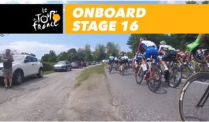 Onboard camera - Étape 16 / Stage 16 - Tour de France 2018