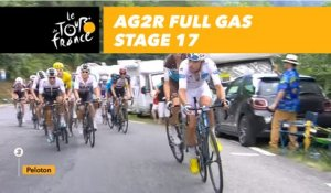 AG2R à bloc / full gas - Étape 17 / Stage 17 - Tour de France 2018