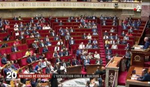 Affaire Benalla : Emmanuel Macron, cible des deux motions de censure