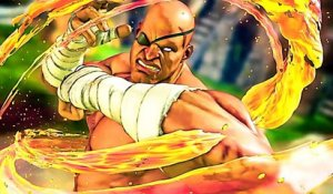 STREET FIGHTER 5 : Sagat Bande Annonce de Gameplay