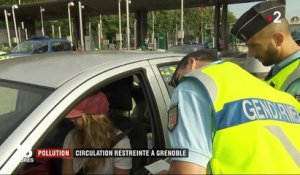 Pollution : circulation restreinte à Grenoble