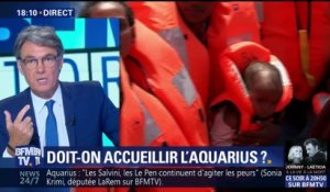 Migrants : la France doit-elle accueillir l'Aquarius ?