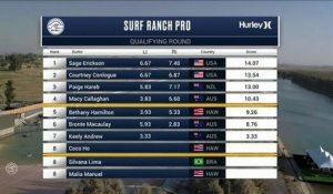 Adrénaline - Surf : Keely Andrew with a 5.5 Wave from Surf Ranch Pro, Women's Championship Tour - Qualifying Round