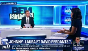 Johnny Hallyday: Laura et David perdants ?