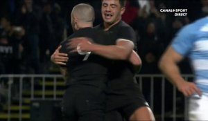 Action de grande classe des All Blacks pour l'essai de Perenara