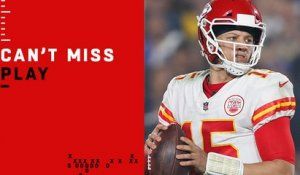 Can't-Miss Play: Mahomes LAUNCHES 73-yard TD strike to Hill