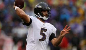 Flacco fires deep to Brown for 29-yard gain