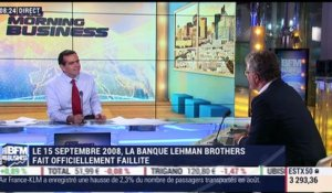Le 15 septembre 2008, Lehman Brothers a fait officiellement faillite - 10/09