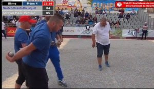 International à pétanque de Ruoms 2018 : Huitième BASTET vs MOLINAS
