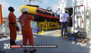 Migrants : l'Aquarius cherche un pavillon