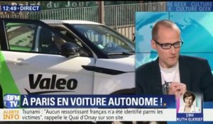 On a testé la voiture autonome à Paris