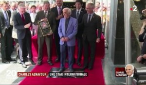 Charles Aznavour : une star internationale