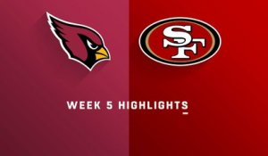 Cardinals vs. 49ers highlights | Week 5