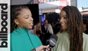 Chloe X Halle Talk Touring With Beyonce & JAY-Z & More at 2018 AMAs | Billboard