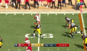 Sammy Watkins dodges defenders for 25 yards