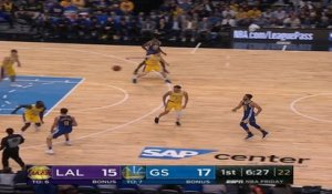 Los Angeles Lakers at Golden State Warriors Recap Raw