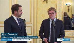 Gouvernement : les entrants, les sortants