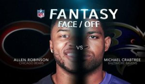 Better fantasy option in Week 7: Robinson or Crabtree?