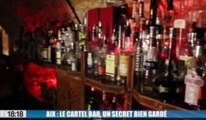 Aix-en-Provence : le Cartel Bar, un secret bien gardé