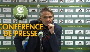 Conférence de presse Red Star  FC - US Orléans (0-4) : Régis BROUARD (RED) - Didier OLLE-NICOLLE (USO) - 2018/2019