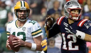 Who can be counted on most in a game-winning drive: Rodgers or Brady?