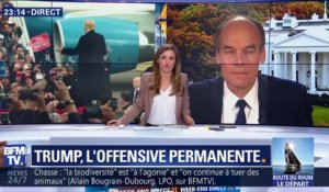 Donald Trump, l'offensive permanente