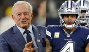 Jerry Jones doubles down on support for Dak