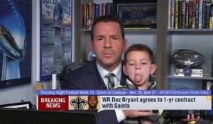 Rapoport's son crashes Dez breaking news hit