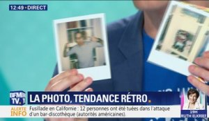 La photo, tendance retro