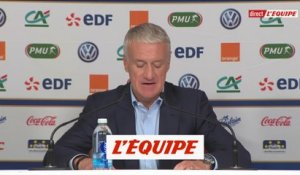 Deschamps donne sa liste - Foot - Ligue des nations - Bleus