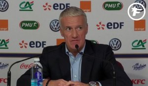 Didier Deschamps justifie le retour d'Anthony Martial